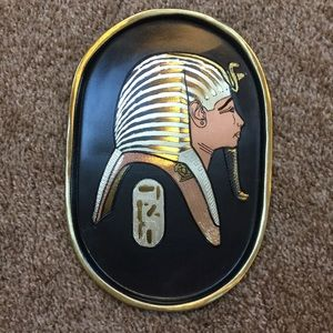 Other - Beautiful, handmade metal plate decor from Egypt.